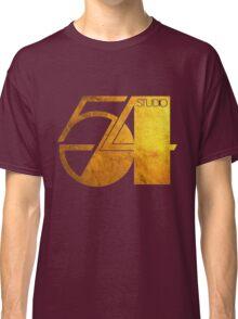 Studio 54 Golden Logo Classic T-Shirt