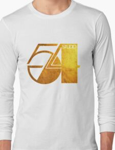 Studio 54 Golden Logo Long Sleeve T-Shirt