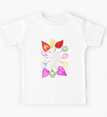 Inflatable Colorful Balloons 2 Kids Tee