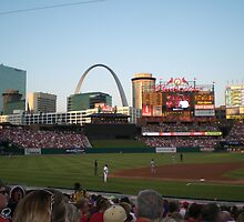 Busch Stadium  by Steven Slusher