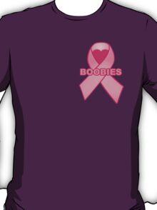 Boobies Ribbon T-Shirt