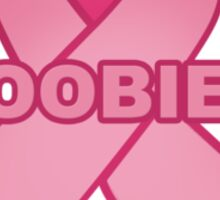 Boobies Ribbon Sticker