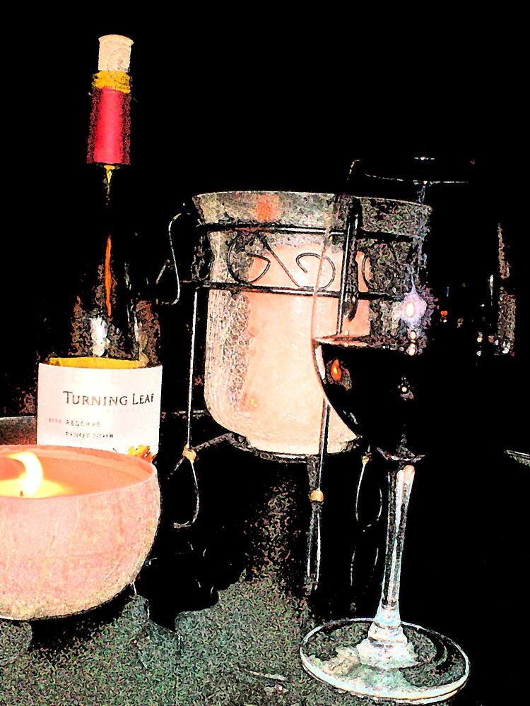 A little wine? by Steven Slusher