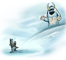Watch for that yeti by CarsonF