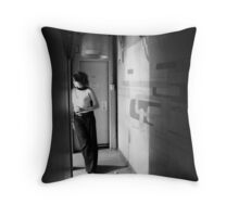 Closing Time Throw Pillow