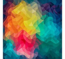 Abstract Color Wave Flash Photographic Print