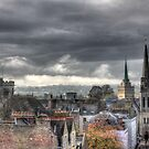 Looking West from Oxfords North Gate Tower by Rich Fletcher