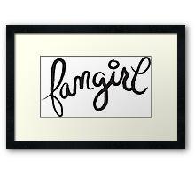 fangirl Framed Print