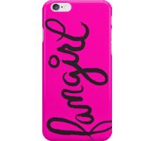 fangirl iPhone Case/Skin