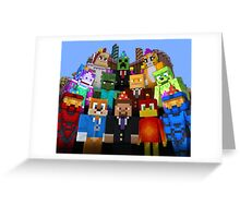 MineWorld Greeting Card