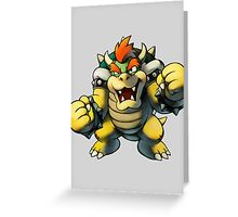 Bowser Greeting Card