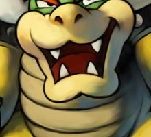 Bowser Sticker