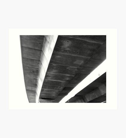 freeway # 6 Art Print