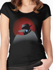 Beware the Gray Ghost!!! Women's Fitted Scoop T-Shirt
