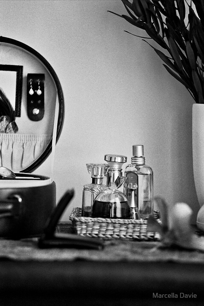 Perfume bottles by Marcella Davie