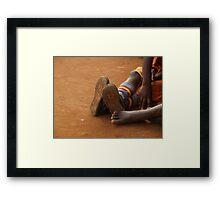 Ugandan Children Framed Print