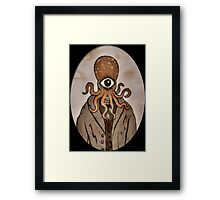 OctopusHead Framed Print
