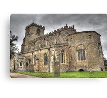 Saxon Church  Canvas Print