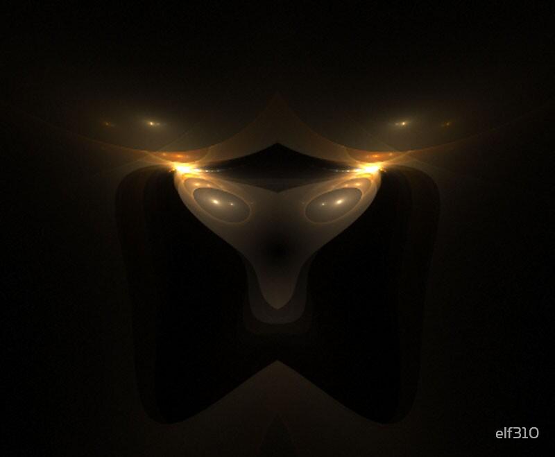 Alien Head 2 by elf310