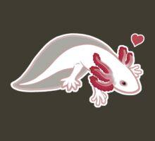 Axolotl Love by Joumana Medlej