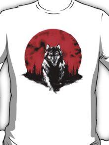 RED HOT MOON - Wolf T-Shirt