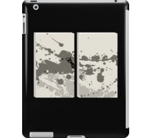 Glitch Homes Alakol deco splatter diptych iPad Case/Skin