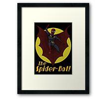 The Spider-Bat! Framed Print