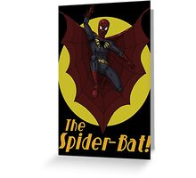 The Spider-Bat! Greeting Card