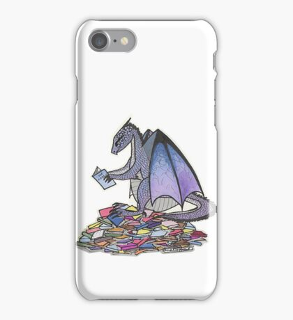 Book Dragon iPhone Case/Skin
