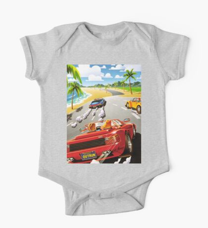 OUT RUN - CLASSIC FLYER One Piece - Short Sleeve