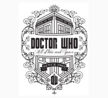 Doctor Who All the Time and Space Vintage by illustore