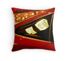sunset strip car Throw Pillow