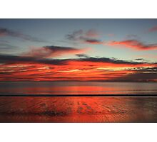 Reflections on the Sea and on the Sand Photographic Print