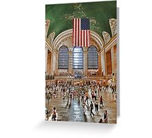 Grand Central Station New York Greeting Card