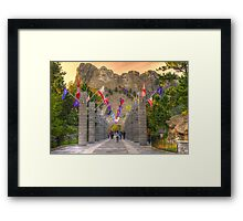 On The Way In Framed Print