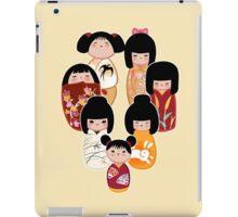 Kokeshi in Autumn iPad Case/Skin