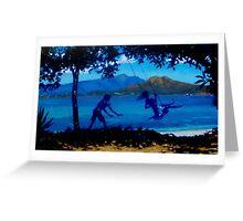 Picnic Bay Swing Greeting Card