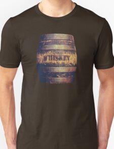 Rustic American Whiskey Barrel Unisex T-Shirt