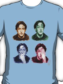 Many faces of John Cusack T-Shirt