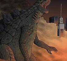 Godzilla by VinnyLiverpool