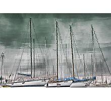 Marina Reflections Photographic Print