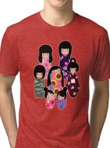 Kokeshi: Nature Tri-blend T-Shirt