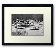 Queen on Ice Framed Print
