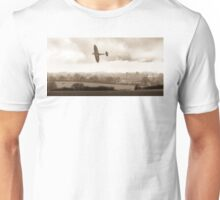 Eagle over England, sepia version Unisex T-Shirt