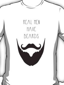 Real Men & Beards T-Shirt