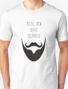 Real Men & Beards T-Shirt