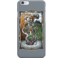 Luna's Haunting Trapeze Act iPhone Case/Skin