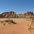 Rainbow Valley, NT, Australia by Stephen  Shelley