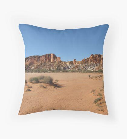 Rainbow Valley, NT, Australia Throw Pillow