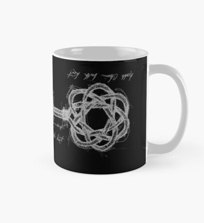 double chinese  button knot, tony fernandes Mug